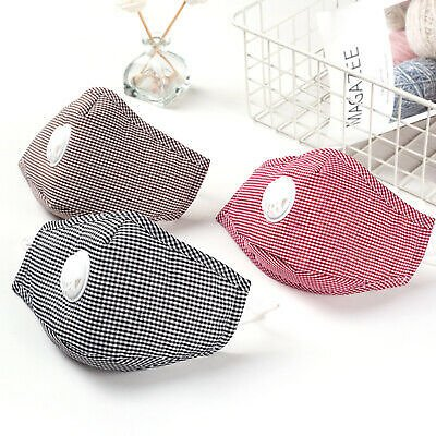 PM2.5 ANTI AIR POLLUTION REUSABLE WASHABLE CYCLING UNISEX ADJUSTABLE FACE MASK