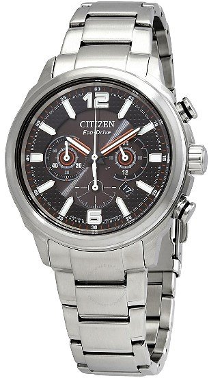Citizen Eco-Drive Chronograph Black Dial Men's Watch