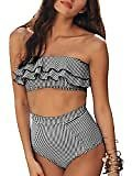 (Ships Free) Womens Sexy Stripe Two Pieces Swimsuits