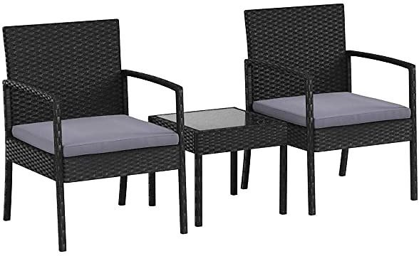 AmazonBasics Patio Conversation Set Free Shipping for Prime Members On Woot!