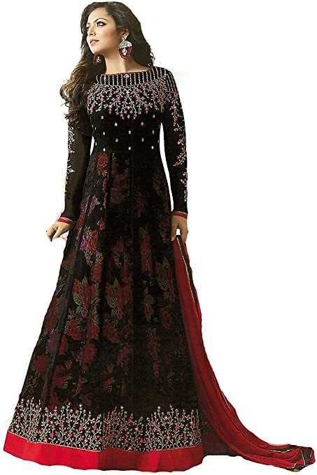 DELISA Designer Indian Wear Anarkali Salwar Kameez Party Wear LT2 (Ready Made)