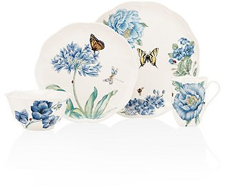 Lenox Dinnerware, Butterfly Meadow Blue Collection & Reviews - Dinnerware - Dining