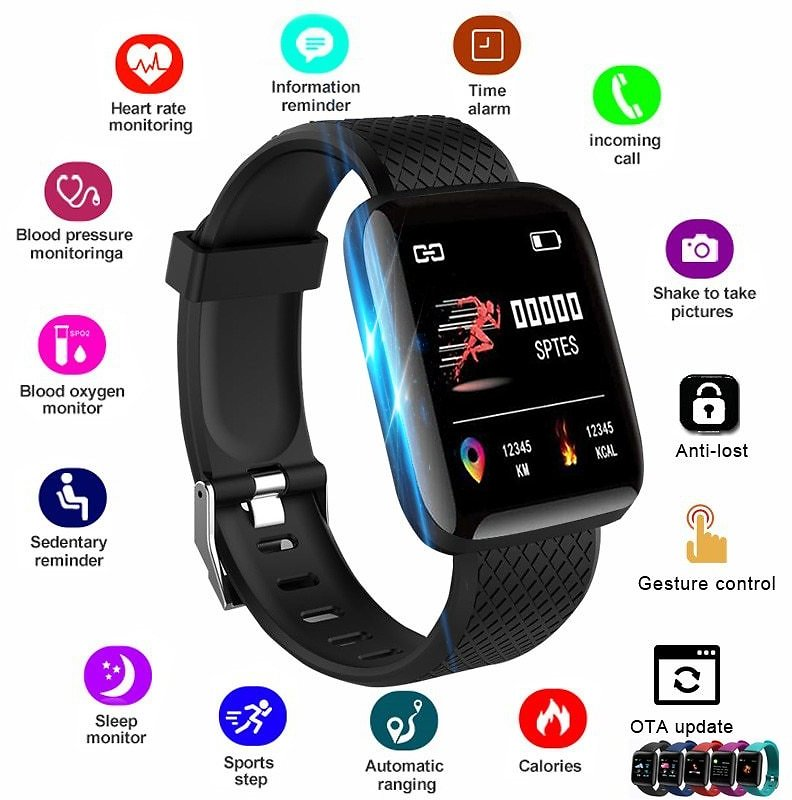 US $4.98 |2020 Smart Watch Women Men Smartwatch For Apple IOS Android Electronics Smart Fitness Tracker With Silicone Strap Sport Watches|Smart Watches| - AliExpress