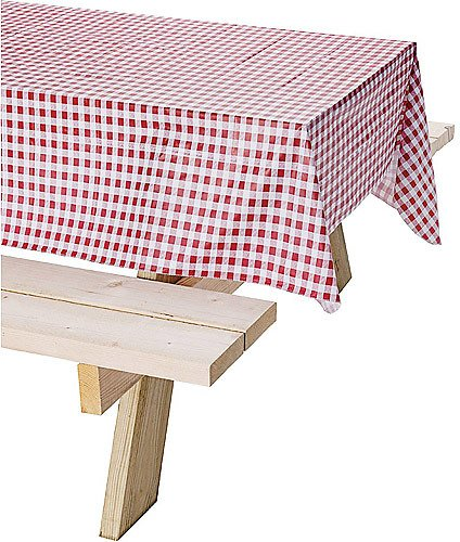 Coleman Tablecloth, Red Checkered, 54