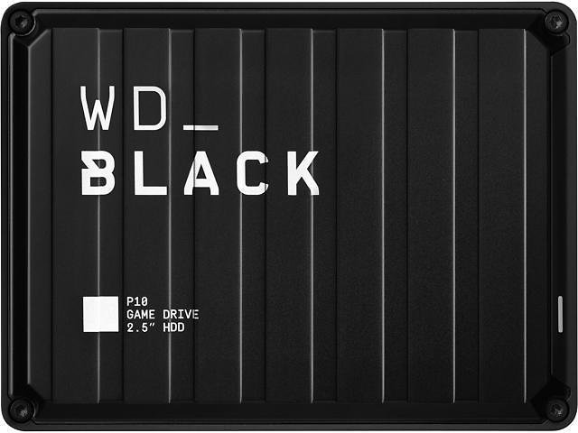 WD Black 5TB P10 Game Drive External Hard Drive