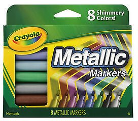 Buy 4 or More Crayola Metallic Markers for $5.76/ea