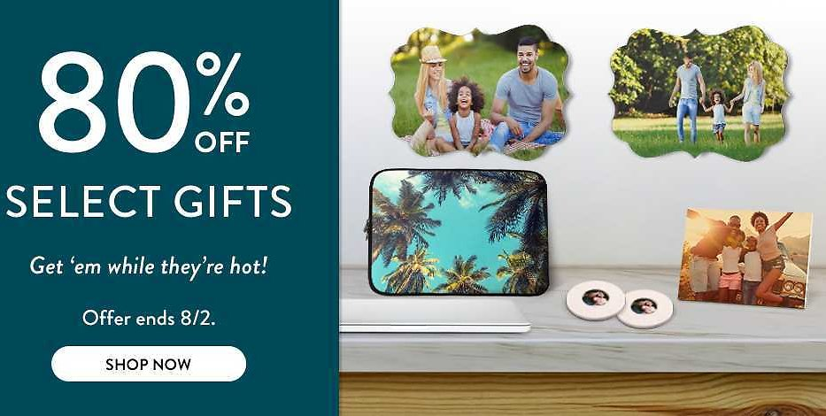 80% OFF | Find Best Prices | Personalized Gifts + Cards Deals | Snapfish US