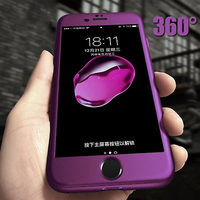 Luxury 360 Protective Hard Case For IPhone 11 Pro Max X XS MAX XR 6 6s 7 8 Plus
