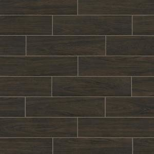 Florida Tile Home Collection Burlington Walnut 6 In. X 24 In. Porcelain Floor and Wall Tile (448 Sq. Ft./ Pallet)-CHDEWLN306X24P