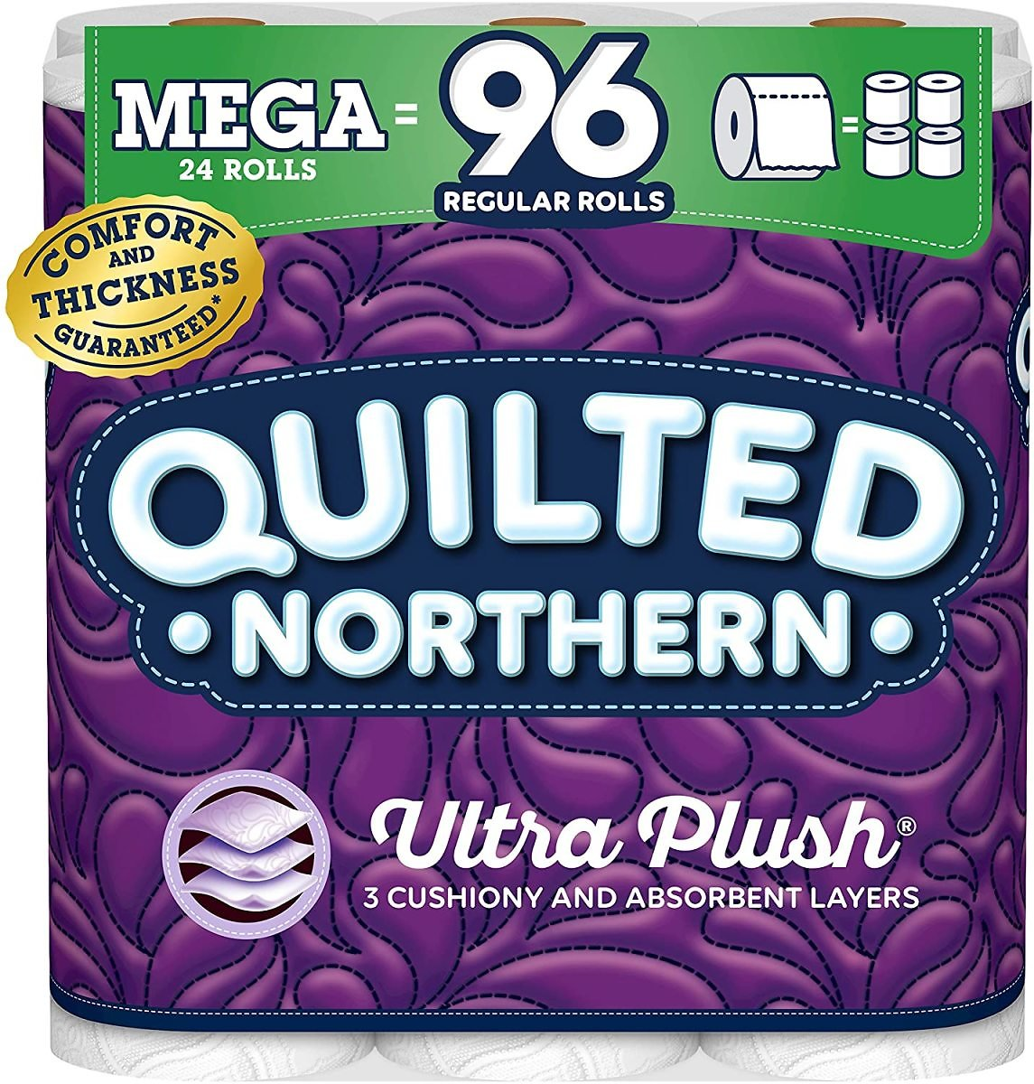 24-Ct Quilted Northern Mega Toilet Paper