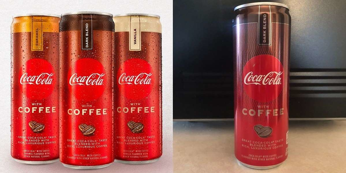 Coke Is Launching A Drink Blended With Coffee And It Contains Double The Caffeine Of Their Typical Soda