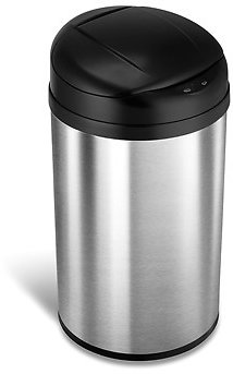 Automatic Touchless Infrared Motion Sensor Trash Can, 11 Gal 40L