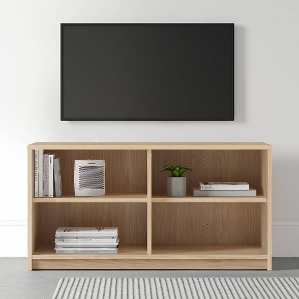 Open Shelf TV Stand - Room Essentials™ (2 Colors)