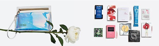 Free Clutch + Beauty Samples W/$125 Beauty Purchase - Neiman Marcus