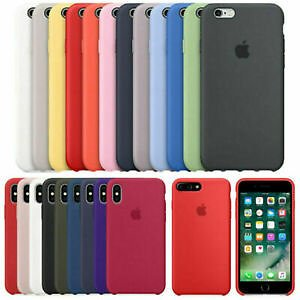 Original Silicone Ultra-Thin Case for IPhone 11 Pro Max X XS XR 8 Plus 7 6