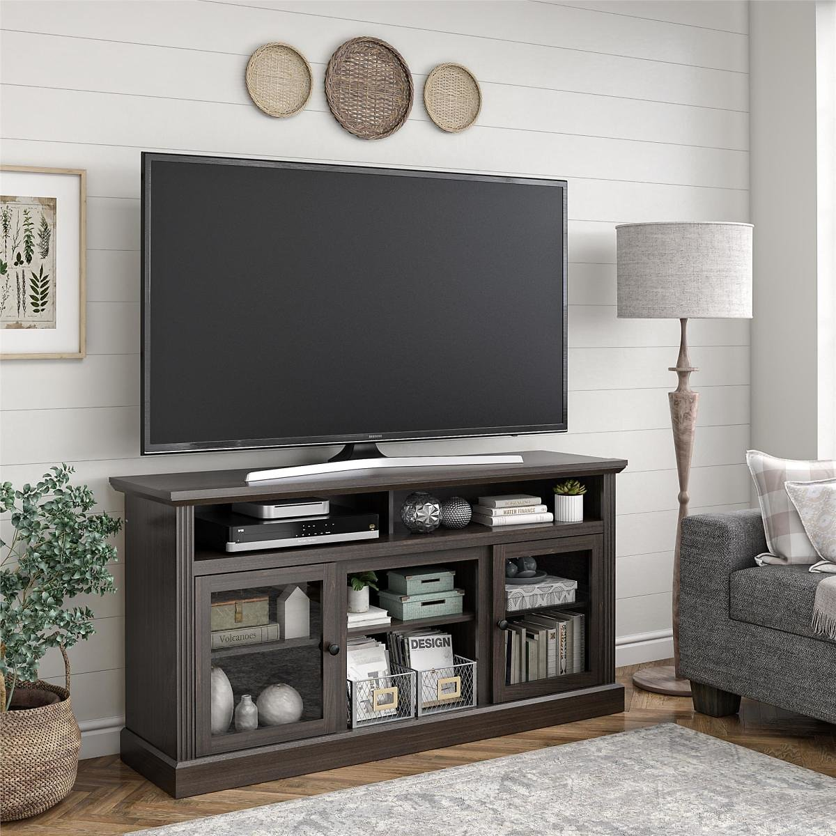 Ameriwood Home Leesburg TV Stand for TVs Up to 65