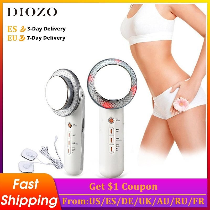 DIOZO Ultrasound Body Slimming Massager Face Lift Devices Fat Burner Machine Weight Loss Tools Cavitation Face Beauty Machine