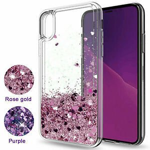 For IPhone 11 Pro X XR XS Max 8 7 6 Plus Liquid Glitter Quicksand TPU Case Cover