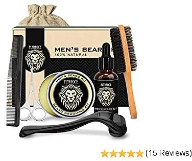 Beard Grooming & Growth Kit