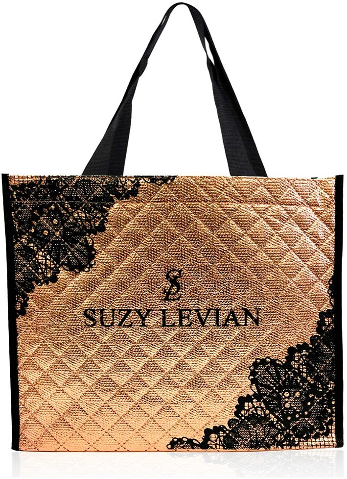 Suzy Levian | Quilted Reusable Tote Carryall Bag | Nordstrom Rack