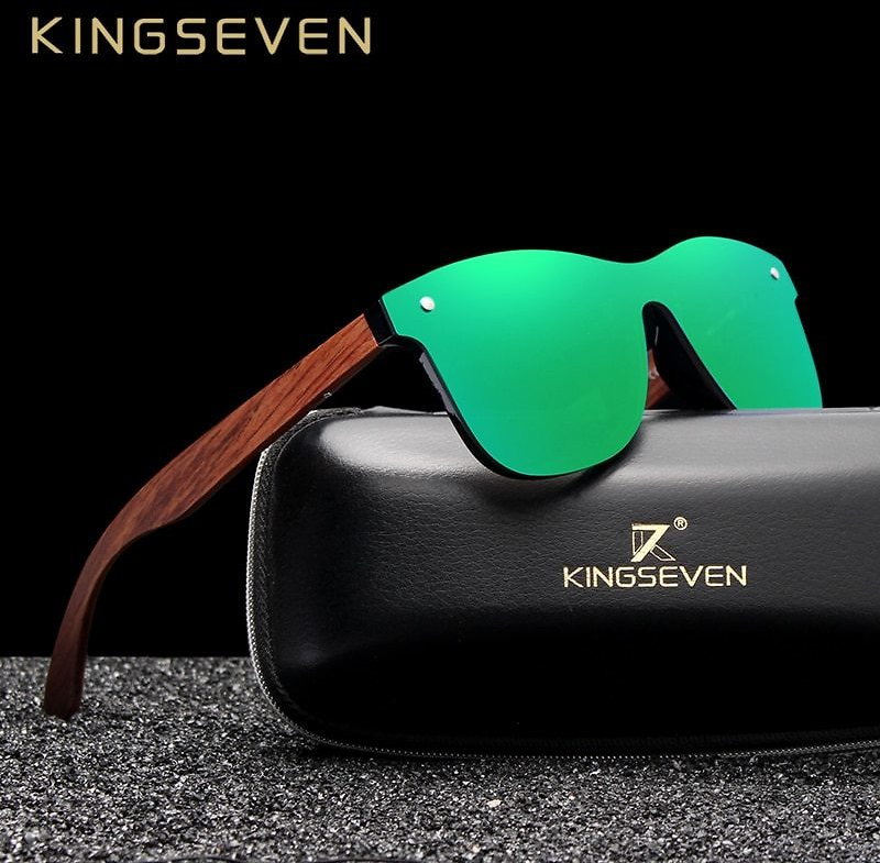 60% OFF| Natural Wooden Sunglasses Men