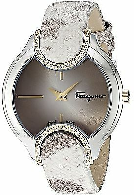 Ferragamo FIZ060015 Women's Signature Beige Quartz Watch
