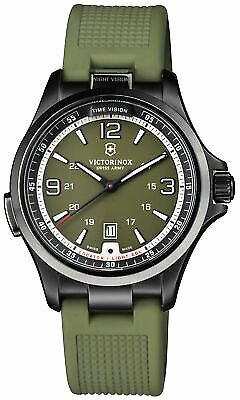 Victorinox Night Vision Quartz Movement Green Dial Men's Watch 241595 46928025756