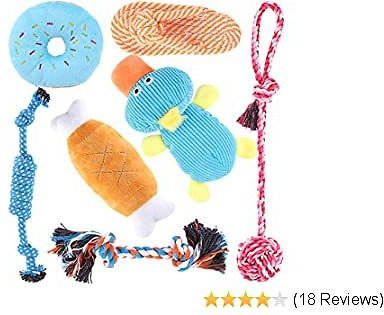 Dog Puppy Toys 7 Pack