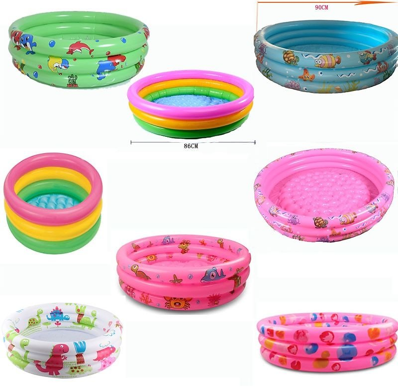 US $11.43 67% OFF|Rainbow Baby Inflatable Round Swimming Pool for 0 3 Years Old PVC Float Accessories Kids Pscina Para Piscine Gonflable Alberca|Swimming Pool| - AliExpress