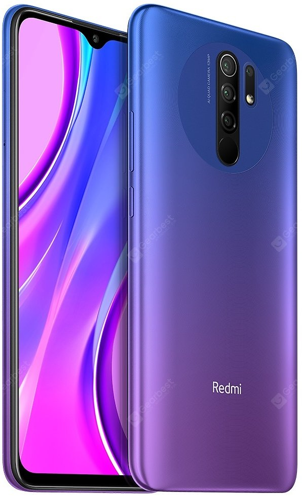 Xiaomi Redmi 9 Purple 3GB+32GB Cell Phones Sale, Price & Reviews | Gearbest