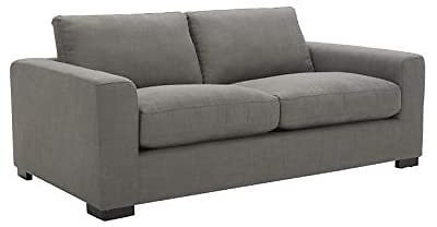 Amazon Brand – Stone & Beam Westview Extra-Deep Down-Filled Loveseat Sofa Couch, 75.6