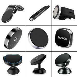 Magnetic Car GPS Phone Holder Stand For IPhone Samsung Magnet Mount Accessories