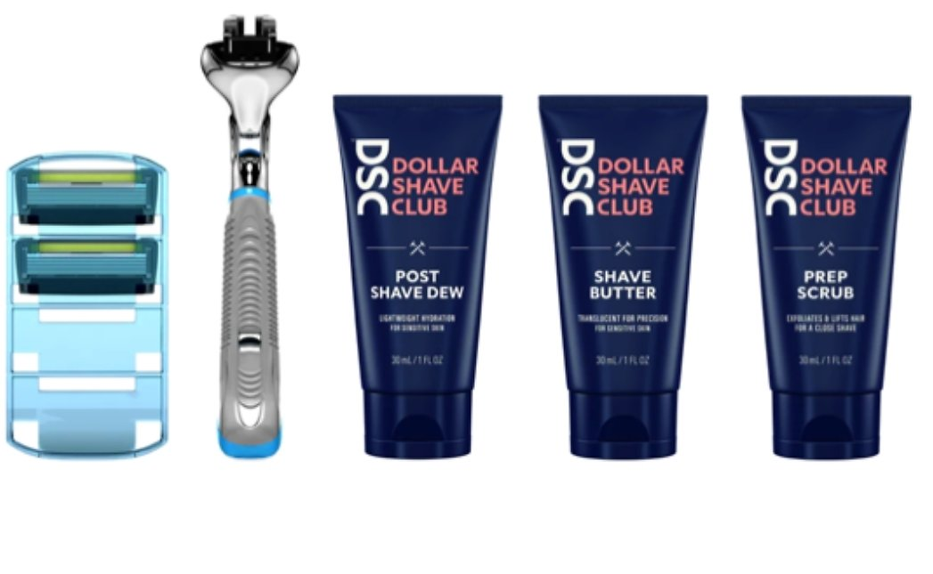 6-Blade Razor, 4 Refills, Shave Butter & Scrub Only $5 + FREE Shipping ($14 Value!)