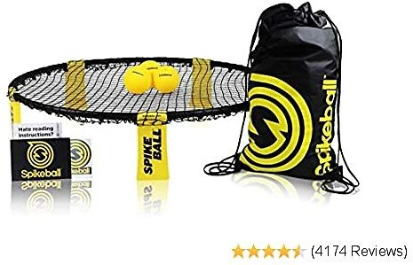 🥎Spikeball Standard 3 Ball Kit - Game for The Backyard, Beach, Park, Indoors🥎