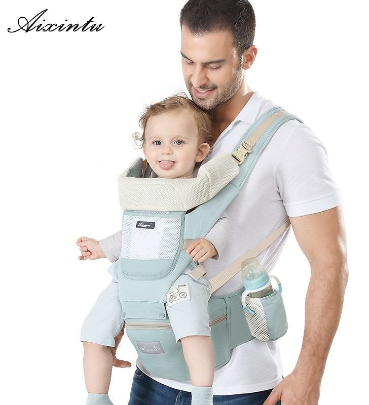 US $27.95 25% OFF|Ergonomic New Born Baby Carrier Infant Kids Backpack Hipseat Sling Front Facing Kangaroo Baby Wrap for Baby Travel 0 36 Months|Backpacks & Carriers| - AliExpress
