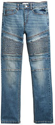 Ring of Fire Big Boys Chase Stretch Moto Jeans, Created for Macy's & Reviews - Jeans - Kids