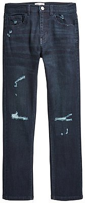 Ring of Fire Distressed Denim Slim-Fit Jeans, Big Boys (8-20), Created for Macy's & Reviews - Jeans - Kids