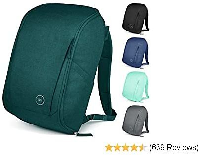 Simple Modern Wanderer Backpack with Laptop Compartment Sleeve - 25L Travel Bag for Men & Women College Work School: Riptide