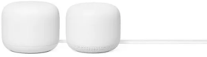 2-Pack Google Nest Wifi Router & Point (F/S)