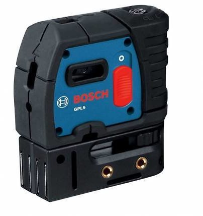 Bosch GPL5-RT 5-Point Self Leveling Alignment Laser (Certified Refurbished)