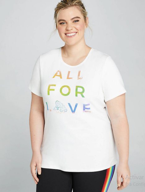Nina West All for Love Graphic Tee | Lane Bryant