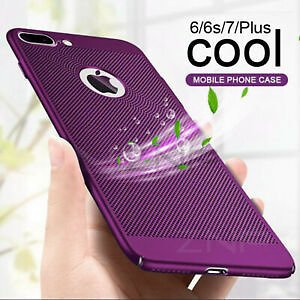 Heat Dissipation Breathable Case For IPhone 8 7 6 6S Plus X XS MAX XR 5 5S SE