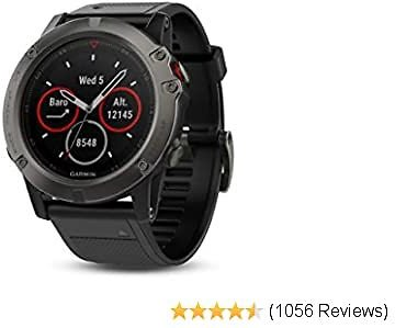 Garmin Fenix 5X Sapphire - Slate Gray with Black Band 2020