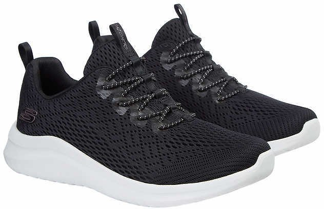 Skechers Ladies' UltraFlex Slip-Ons (Black)