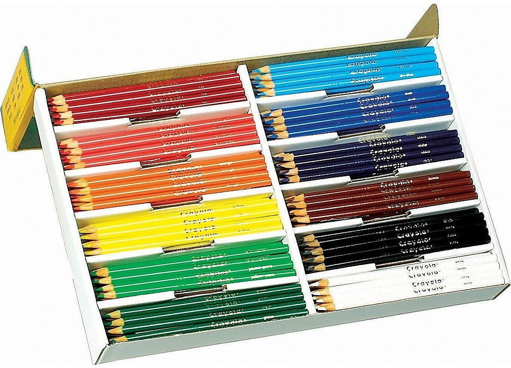 Crayola® Colored Pencils Classpack®, 240/Box + Free Shipping