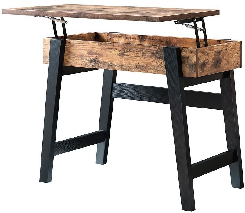 Furniture of America Kelli Lift-Top Storage Console Table