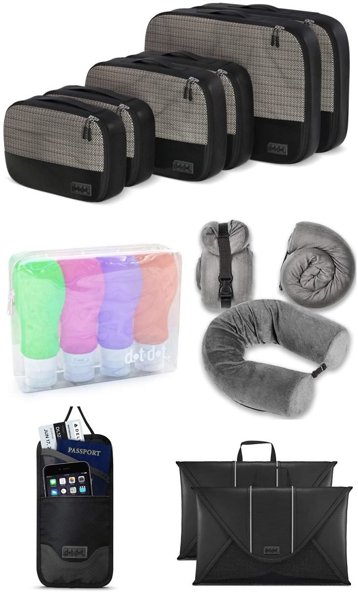 Up to 70% Off Travel Accessories Bundle, Ultimate Gift for Travelers + Free Shipping