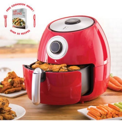 Today Only! Dash 6 Quart Family Air Fryer with Cookbook + F/S