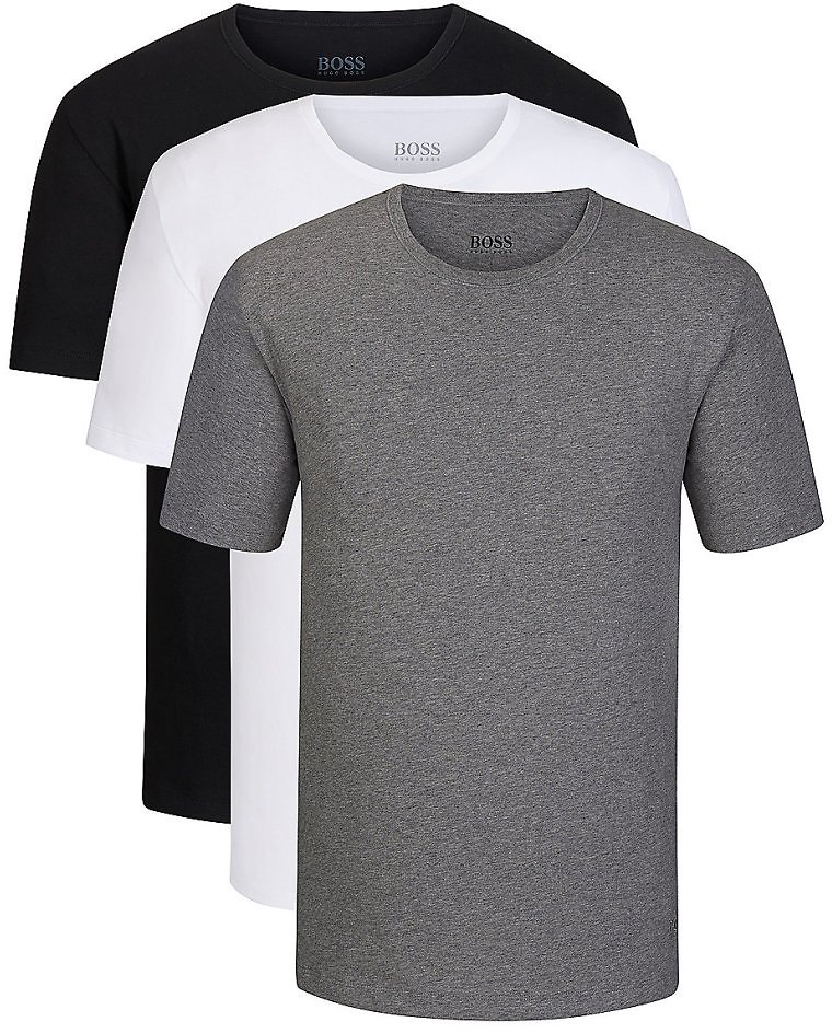 BOSS - Three-pack of Crew-neck Bodywear T-shirts in Cotton