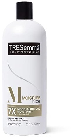 3-Pack TRESemme Moisture Rich Conditioner for Dry Hair 28-Oz